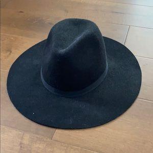 J.Crew Italian Wool Wide Brimmed Hat